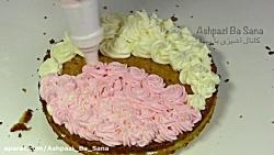 طرز تهیه کیک وانیلی ساده