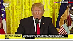 درگیری لفظی ترامپ با خبرنگار سی ان ان