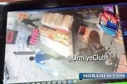لحظه شلیک گلوله توسط یک پدر به پسرش در ارومیه