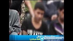 عملیات دستگیری تعداد زیادی از اراذل و اوباش توسط پلیس