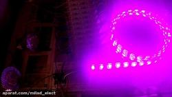 نورپردازی با انواع روشنایی ها در رنگهای مختلف  با Avr