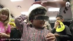 عینک فوق مدرن نور را به چشمان کودک ۴ ساله بازگرداند