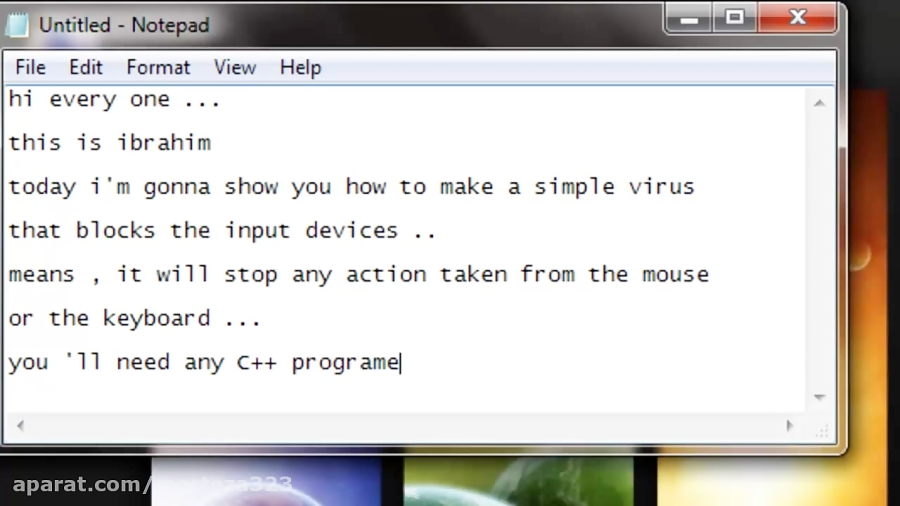 How To Make A Simple But Powerful C Virus