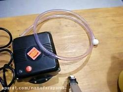 حذف ویروس آنفلوانزا  از بدن و لوازم و در و دیوارها (استریل با Ozone)