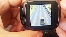 Ourtime x01s Smart Phone Watch Traffic Racer Test