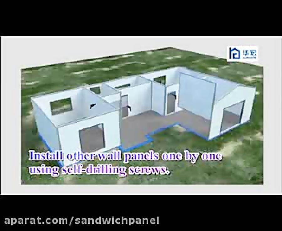 ساندویچ پانل های EPS در ساخت خانه های ویلایی