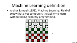 Machine learning W1 02: What is Machine Learning