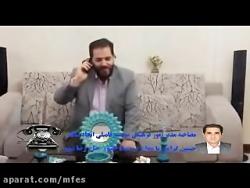 مصاحبه حاج رضا نبوی با امور فرهنگی اتحاد ساقدر