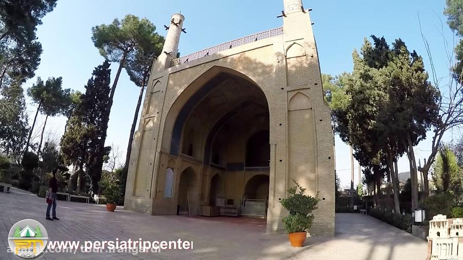 تصویر از تکان خوردن منارجنبان اصفهان