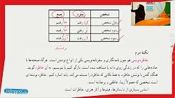ویدیو آموزشی دانش ادبی و زبانی درس11 فارسی هفتم