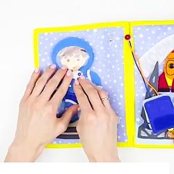 """کتاب برای کودکان با زیرنویس از """"بیبی پرو"""""""