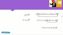 ویدیو آموزش فارسی دهم درس اول