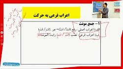 ویدیو آموزش درس سوم عربی دهم