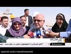 بازدید وزیر نفت از پایخت انرژی ایران: فازهای پارس جنوبی