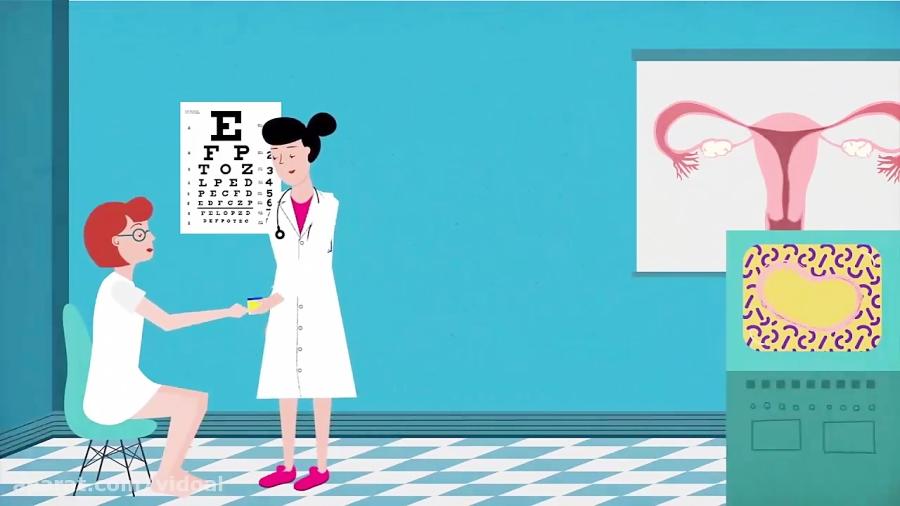چگونگی-عملکرد-تست-بارداری-تدریس-ویدوآل