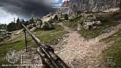 گیم پلیBattlefield 1 Sniper(Long Ran...