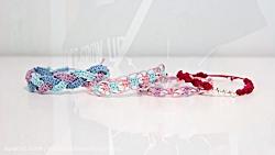 DIY friendship bracelets! 4 EASY stackable...