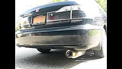 Honda Accord Exhaust Silencer Sound