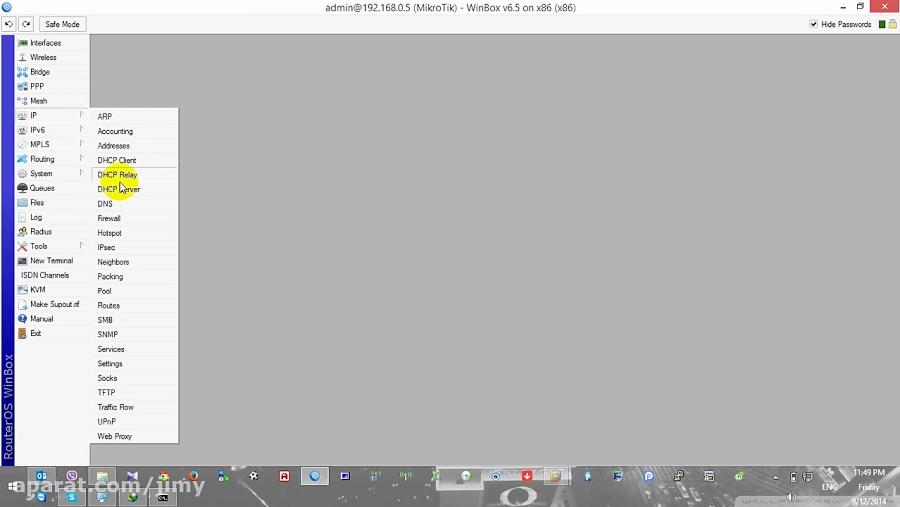 Mikrotik RADIUS Server with Remote User manager