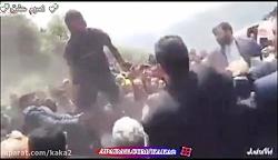 حمله کارگران معدن گلست...