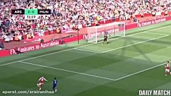 Arsenal vs Manchester United 2-0 Highlight...