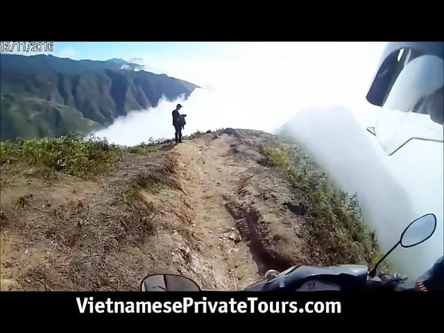 تور ویتنام: ساپا، عبور از باریکه معروف چام تون با موتور