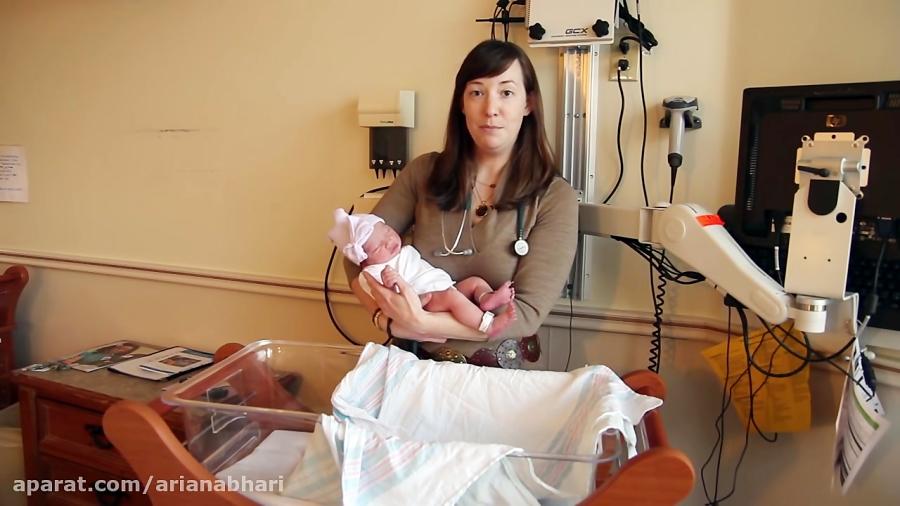 آموزش قنداق کردن نوزاد