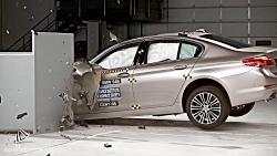 سری 5 ایمن ترین خودروی دنیا 2017 BMW 5 series crashtest