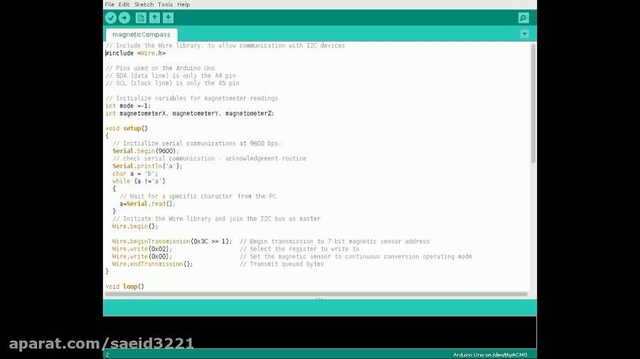 Wire Library Arduino