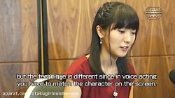مصاحبه با Yui Ishikawa صداپیشه میکاسا آکرمن