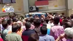 تجمع كسبه ی تجریش در اعتراض به دست فروشان