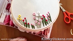 Hand Embroidery: How to Stitch Roses with the Woven Wheel Stitch (Spider Woven Wheel) Tutorial