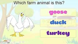 آموزش زبان انگلیسی کودکان - آموزش حیوانات مزرعه