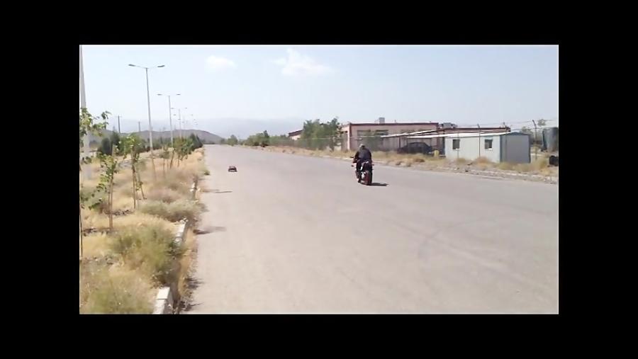 مسابقه درگ موتور کیپس با ارسی !!! مشهد 22 شهریور !!!