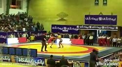 کشتی مهران نصیری و مسعود اسماعیل پور