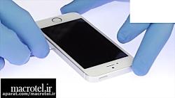آموزش تعویض باتری iphone SE - ماکروتل