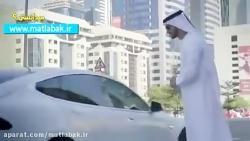 تاکسی های بدون راننده در دبی خودرو خودران تسلا