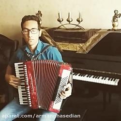 iranian music by arman ghaseian's accordion