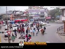 شکار دوربین ها از زلزله ها