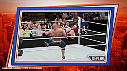 گیم پلی WWE 2k17 (درخواستی از علی)(پیرمرد!!!)