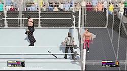 گیم پلی WWE 2k17 (درخواستی ازmohamadww )قفس جهنمی 2!!)