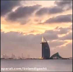 ویدئویی جالب از دبی