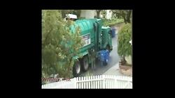 ماشین زباله پخش کن
