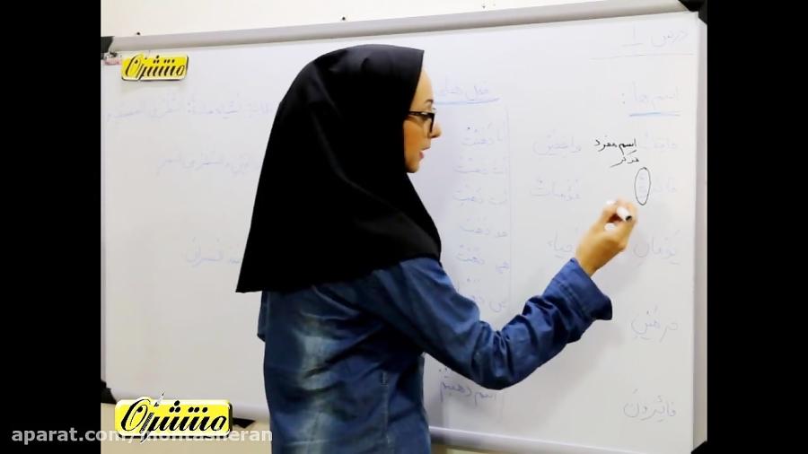 عربی-هشتم-درس-۱-تدریس-منتشران