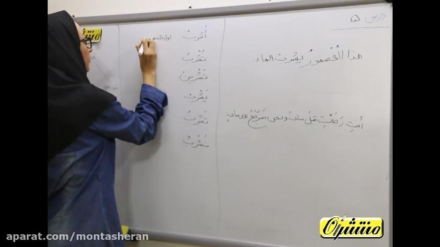 عربی-هشتم-درس-۵-تدریس-منتشران
