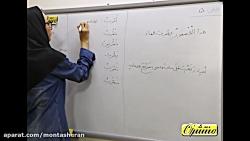 فیلم آموزش قواعد درس 5 عربی هشتم