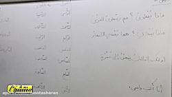 ویدیو آموزش قواعد درس10 عربی هشتم