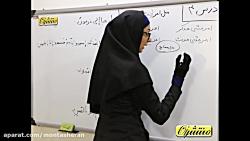 فیلم آموزش قواعد درس چهارم عربی نهم