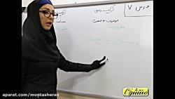 ویدیو آموزش قواعد درس7 عربی نهم