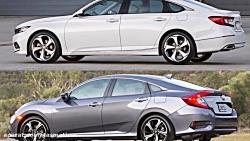 2018 Honda Accord vs 2017 Honda Civic